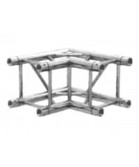 BT3CA Truss box truss 290mm x 90deg 2 way corner, 2mm thick with global compatible connection
