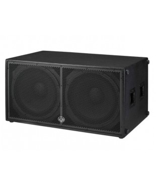 "Wharfedale DELTA218B Double 18"" Passive 6400W PRG Subwoofer. 2 high output, low distortion 18"" cast frame woofers with 3"" voice coils."