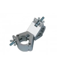 DRA016 Set of 2 clamps free to rotate 360 degrees for connection of 2 50mm tubes swivel coupler 750 kg