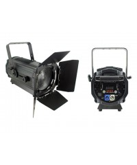 Light Emotion Professional FRES120WW 120w Warm White LED Fresnel with Barn Doors 15-55 degree zoom