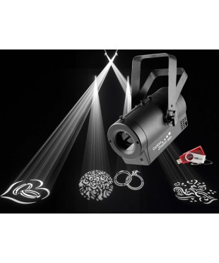 Chauvet GOBOZOOMUSB 25w LED Gobo Projector with USB Di-Fi compactibility