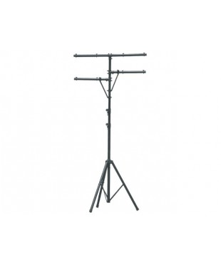 SoundKing LTS1B Aluminium Lighting Stand with T Bar and Side Arms. 3.25 m.