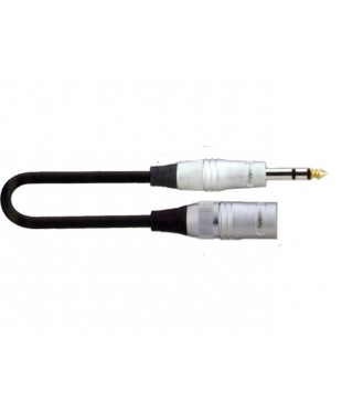 SoundKing MCMJSL1 XLR3-M to TS-M 6.35mm Jack Signal Lead (1m)