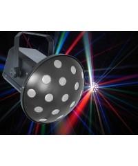 Light Emotion MUSHROOMLED LED Lighting Effect Classic Mushroom 5x3W RGBAW LEDs DMX