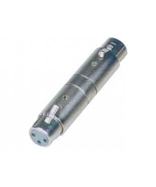 SoundKing XFXF2 2 PACK XLR 3-F to XLR3-F Adapter (Gender bender)